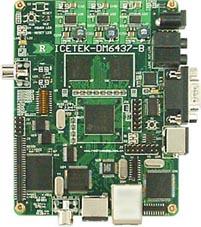 DM6437+F28015双DSP最小系统板:ICETEK-DM6437-B
